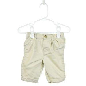 Ralph Lauren Ivory Cotton Khaki Pants